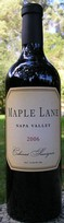 Maple Lane 2006 Napa Valley Cabernet Sauvignon